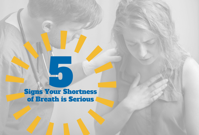 Asthma Symptoms- 5 Signs Your Shortness of Breath is Serious